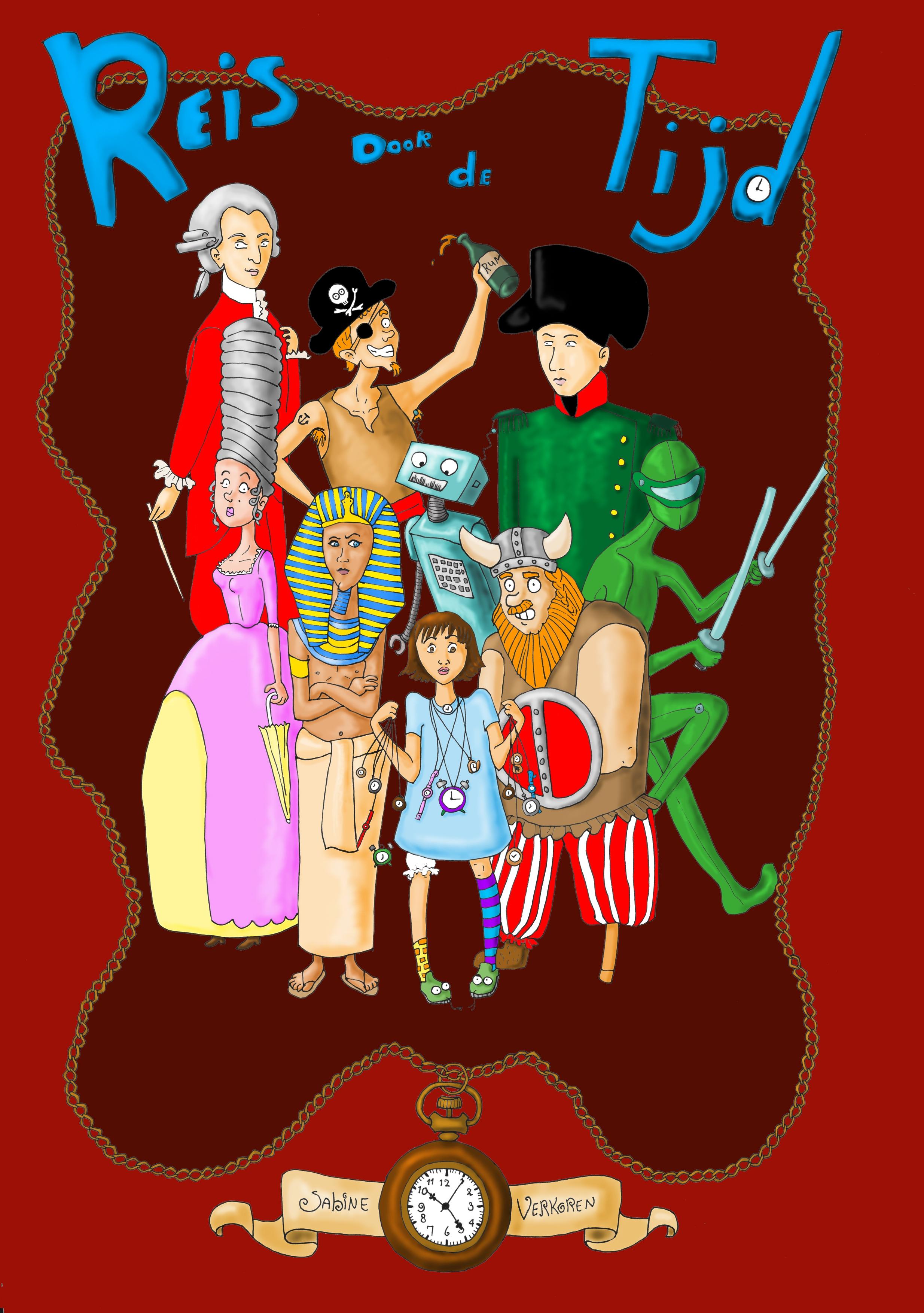 verhalenwedstrijd 2011 – Reis door de Tijd | Stichting Noenki